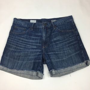 Gap 1969 Sexy Boyfriend Shorts Denim Cut Off 28 T